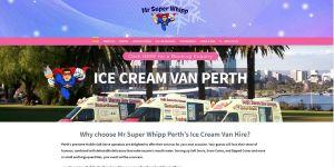 Ice Cream Van Perth - Mr Super Whipp